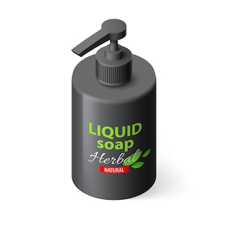 Savon liquide isométrique