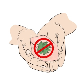Savon prévention antibactérien mains santé