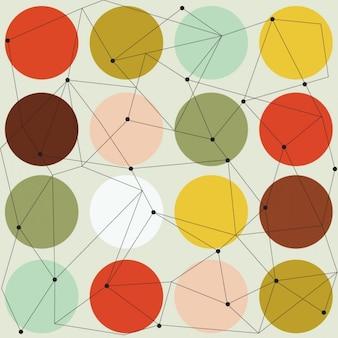 Scandinavian seamless moderne géométrique
