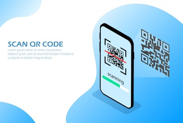 Scannez le code qr par téléphone.