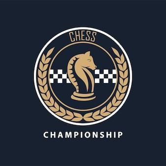 Sceau de chevalier d'échecs