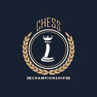 Sceau de tour d'échecs