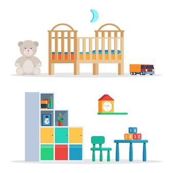 Scène chambre bébé