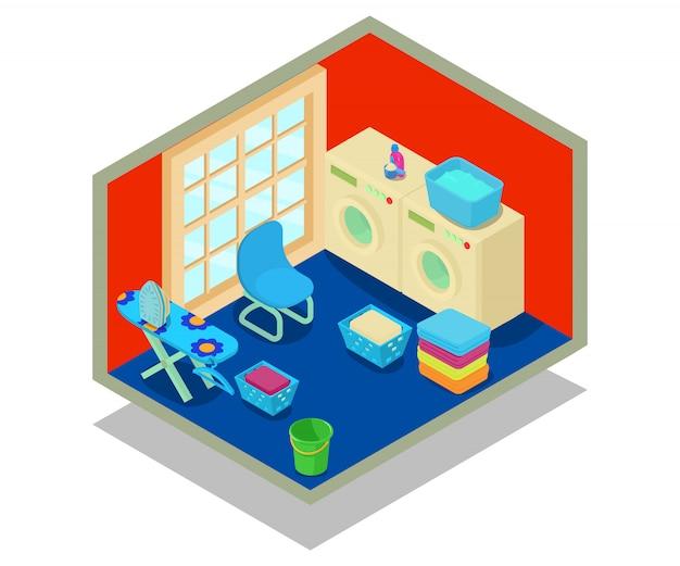 Scène concept lavable