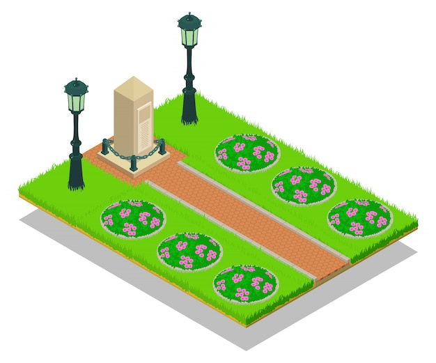 Scène de concept de ruelle