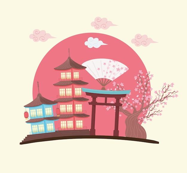 Scène culturelle japonaise