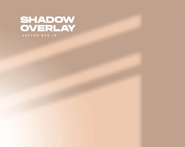 Scène de superposition d'ombre windows