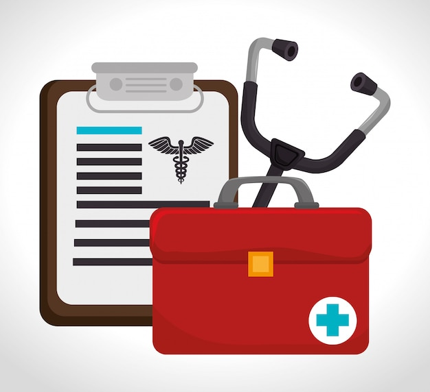 Scénographie médicale.