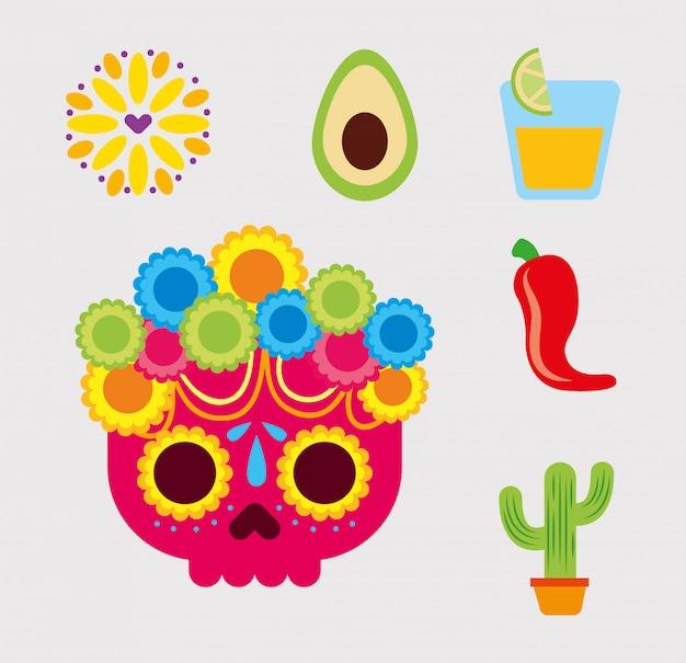 Scénographie mexicaine, point de repère du tourisme culturel mexicain et thème de la fête