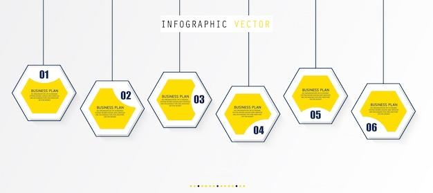 Schémas pédagogiques illustrations de planification d'entreprise