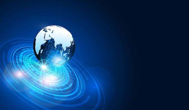 Sci fi technologie cyber design futuriste concept fond eps 10 vecteur