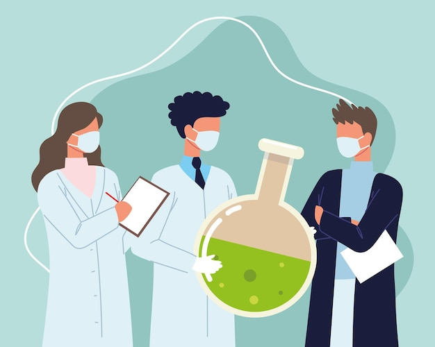 Science de laboratoire de personnes