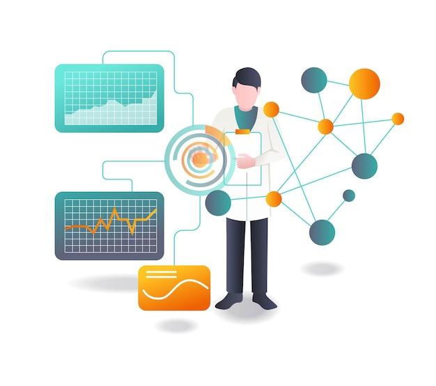 Des scientifiques mènent des recherches sur la transformation numérique