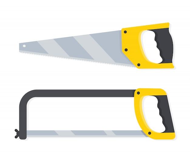 Scies pour bois et métal