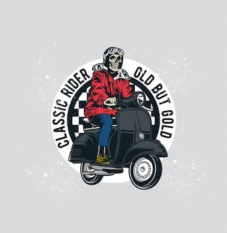 Scooter classique