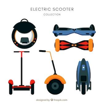 Scooters électriques avec style moderne