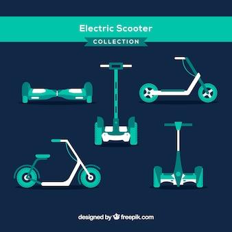 Scooters électroniques avec style original