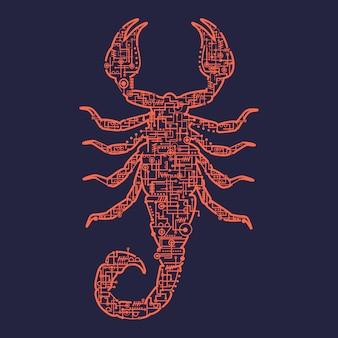 Scorpion électrique