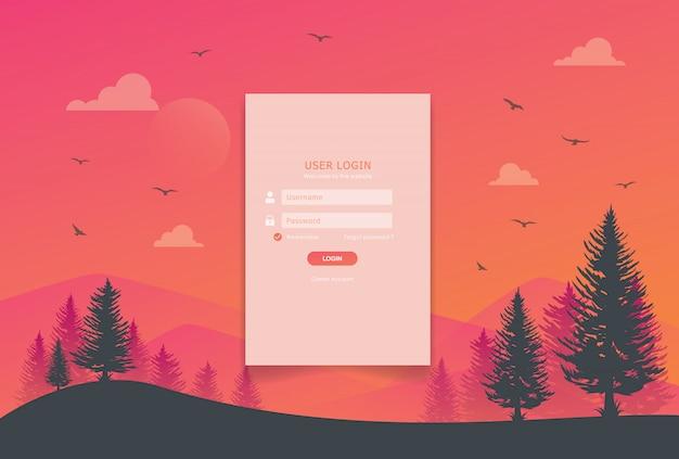 Se connecter à la conception de la page