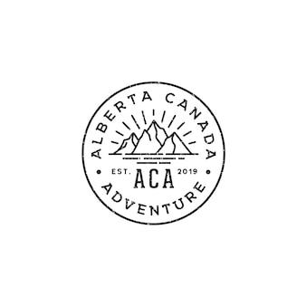 Sea for adventure emblem logo