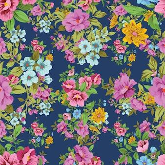 Seamless floral pattern en vecteur