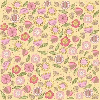 Seamless fond avec des fleurs