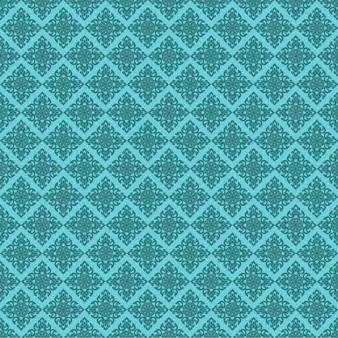 Seamless line motif thaïlandais vert