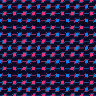 Seamless pattern de la forme des yeux