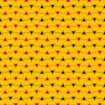 Seamless pattern of triangle