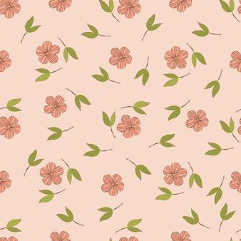 Seamless pattern vacances de printemps
