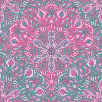 Seamless pattern vector mandala pour l'impression.