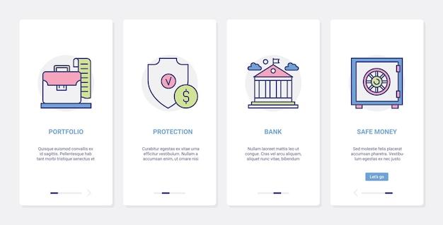 Sécurité bancaire, protection de l'argent des finances