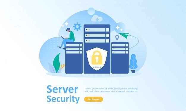 Sécurité des données de la technologie cloud