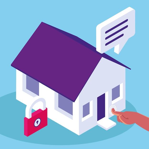 Sécurité du contrôle d'accès à la maison intelligente