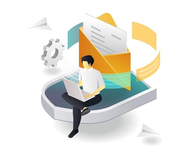 Sécurité de l'envoi des e-mails et des données