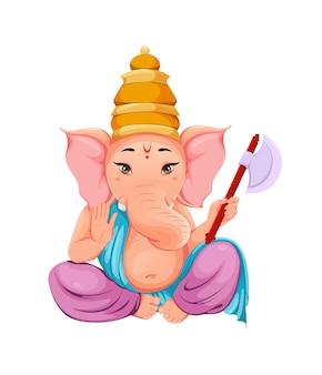 Seigneur ganesha, idole ganpati