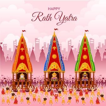 Seigneur jagannath puri odisha dieu rathyatra festival jagannatha balbhadra et subhadra rath yatra