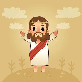 Le seigneur jésus du sauveur