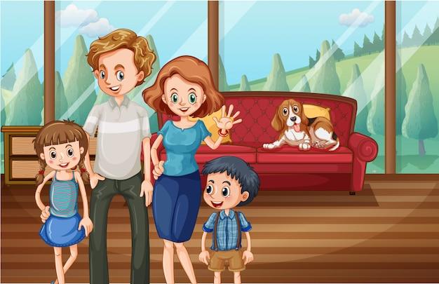 Un séjour en famille à la maison