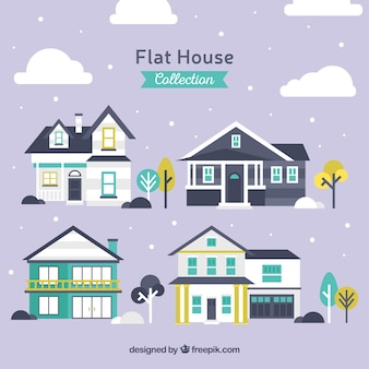 Sélection appartement de grandes façades de maisons