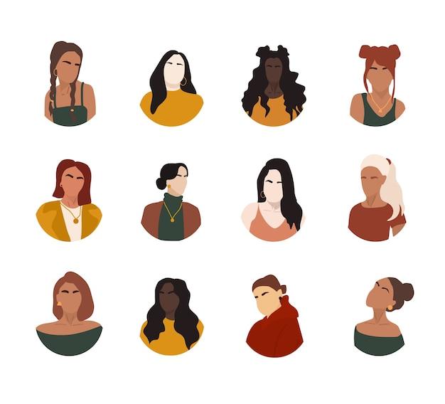Sélection de portraits de femmes