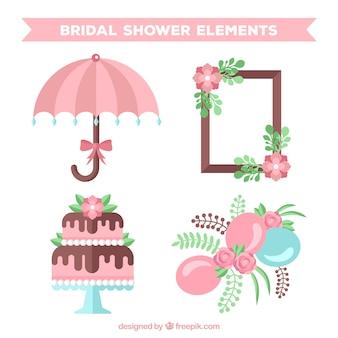 Sélection de quatre jolis accessoires de mariage
