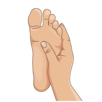 Semelle de pied
