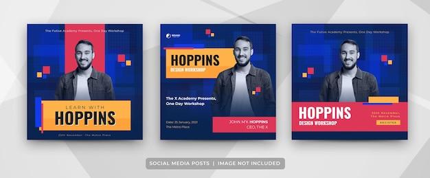 Séminaire webinaire atelier publication sur les médias sociaux