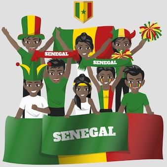 Senegal supporter de l'équipe nationale