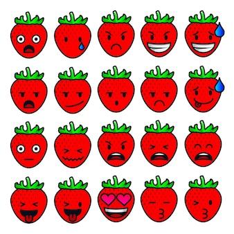 Sentiments et émotions à la fraise