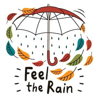 Sentir la pluie