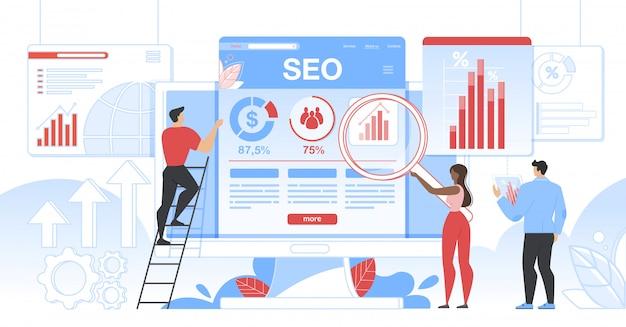 Seo analytics team it optimisation des moteurs de recherche
