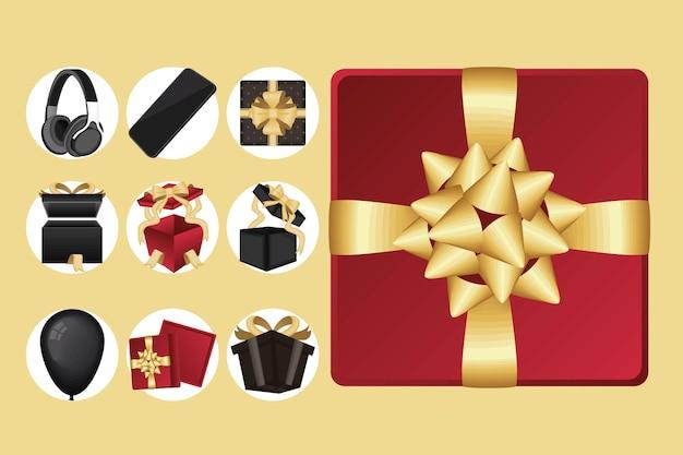 Sept cadeaux et icônes
