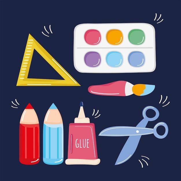 Sept icônes d'ateliers